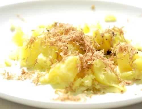 Aardappel geprakt met truffel